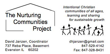 Nuturing Communities Contact